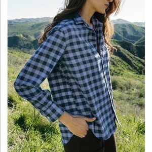 Frank & Eileen | Eileen Flannel Button Down